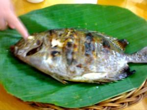 Ikan Bakar Baronang