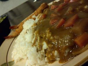 Tempura Curry Rice